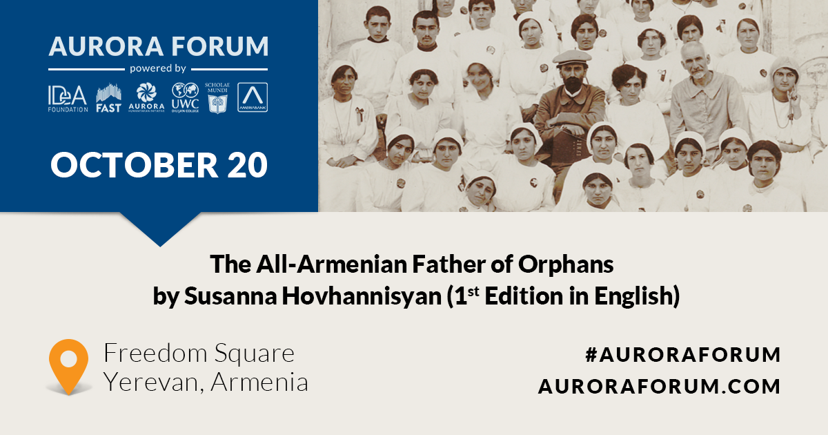 Book Presentation: The All-Armenian Father of Orphans Devoted to Hovhannes Tumanyan by Susanna Hovhannisyan (First Edition in English)