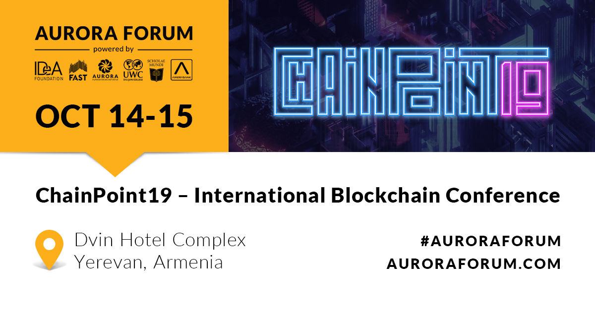 ChainPoint19 – International Blockchain Conference