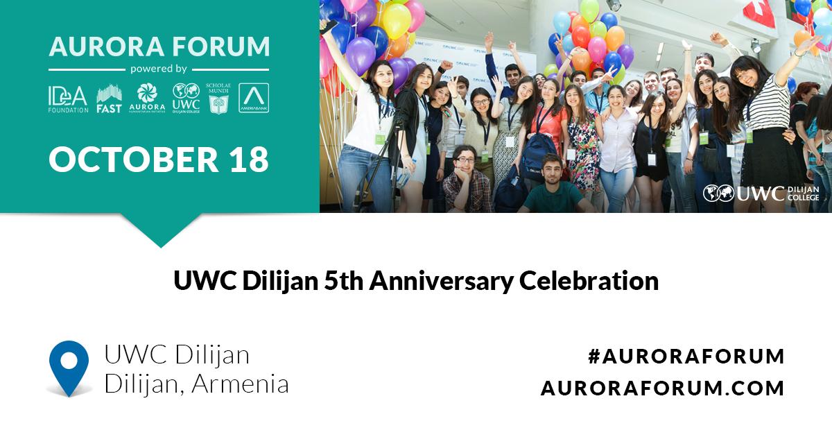 UWC Dilijan 5th Anniversary Celebration